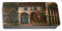 Peaceful Landscape Paintings Portable Battery Charger