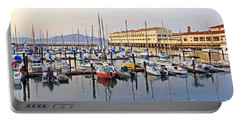 Portable Battery Charger featuring the photograph Peaceful Marina by Kate Brown