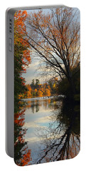 Peaceful October Afternoon Portable Battery Charger