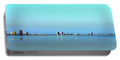 Peaceful Pensacola Beach Portable Battery Charger by Faith Williams