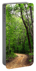 Peaceful Walk Portable Battery Charger by Lydia Holly