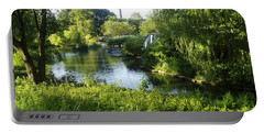 Peaceful Waters Portable Battery Charger by Verana Stark