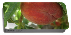 Peach Portable Battery Charger by Kerri Mortenson