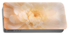 Peach Mum Luminous Painted Blossom Portable Battery Charger