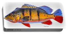 Peacock Bass Portable Battery Charger