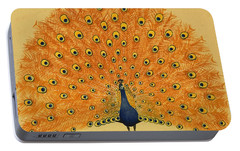 Peacock Portable Battery Charger by English School