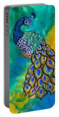 Peacock Waltz II Portable Battery Charger