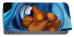 Pear Anyone Portable Battery Charger by Laura Forde