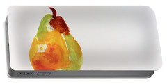 Pear In Autumn Portable Battery Charger