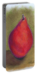 Pear Study 3 Portable Battery Charger by Marna Edwards Flavell