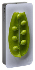 Peas In A Pod 2 Portable Battery Charger by Sean Griffin