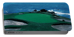 Pebble Beach Golf Course 8th Green Portable Battery Charger