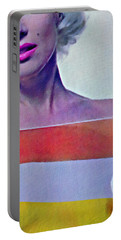 Peek A Boo Marilyn  Monroe Portable Battery Charger
