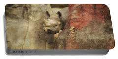 Peek A Boo Rhino Portable Battery Charger