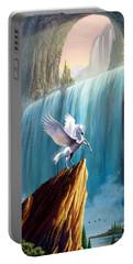 Pegasus Kingdom Portable Battery Charger by Garry Walton