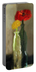 Peggy's Flowers Portable Battery Charger