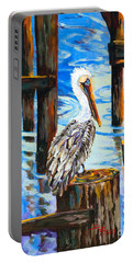 Pelican And Pilings Portable Battery Charger