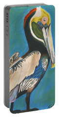 Pelican Blue Portable Battery Charger