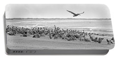 Pelican Convention  Portable Battery Charger by Betsy Knapp