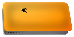 Pelican Diving At Sunset Portable Battery Charger