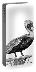 Monterey Pelican Pooping Portable Battery Charger