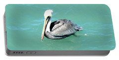 Portable Battery Charger featuring the photograph Pelican by Oksana Semenchenko