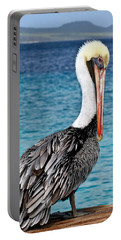 Pelican Portrait Portable Battery Charger by Jean Noren