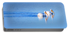 Pelicans On The Bay Portable Battery Charger