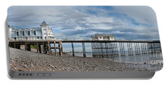 Penarth Pier Panorama 1 Portable Battery Charger