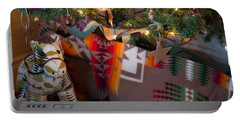 Pendleton Christmas Portable Battery Charger by Patricia Babbitt