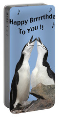 Penguin Birthday Card Portable Battery Charger