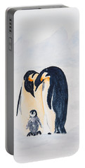Penguin Family Portable Battery Charger