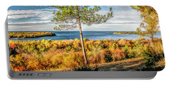 Peninsula State Park Scenic Overlook Panorama Portable Battery Charger
