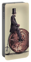 Penny Farthing Portable Battery Charger