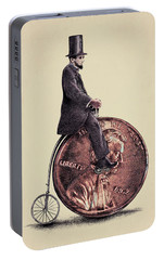 Penny Farthing Portable Battery Charger by Eric Fan