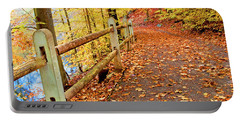 Pennypack Trail Philadelphia Fall Portable Battery Charger