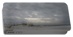 Pensacola Beach After Storm  Portable Battery Charger by Christiane Schulze Art And Photography