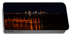 Pensacola Beach Reflections Portable Battery Charger