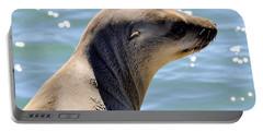 Pensive Sea Lion  Portable Battery Charger