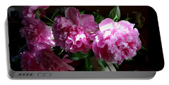 Peonies2 Portable Battery Charger