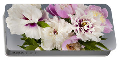 Peony Flower Bouquet Portable Battery Charger