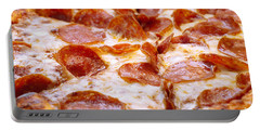 Pepperoni Pizza 1 - Pizzeria - Pizza Shoppe Portable Battery Charger