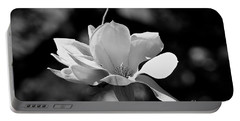 Perfect Bloom Magnolia In White Portable Battery Charger