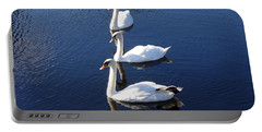 Portable Battery Charger featuring the photograph Perfect Family Gathering by Lingfai Leung