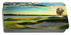 Perfect Golf Sunset Portable Battery Charger