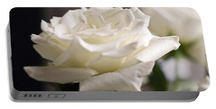 Perfect White Rose Portable Battery Charger