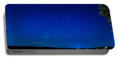 Perseid Meteor Portable Battery Charger by Charles Hite