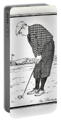 Portable Battery Charger featuring the drawing Persistance by Ira Shander