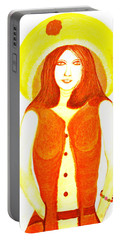 Personas 1 Portable Battery Charger by Lorna Maza