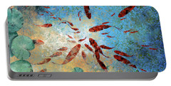Koi Rotanti Portable Battery Charger by Guido Borelli